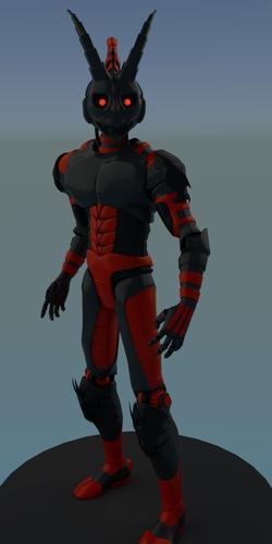 Human Robot3D model