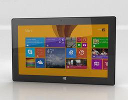 3D model Microsoft Surface Pro 2