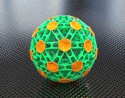 bro sphere structure x4 3d printable model