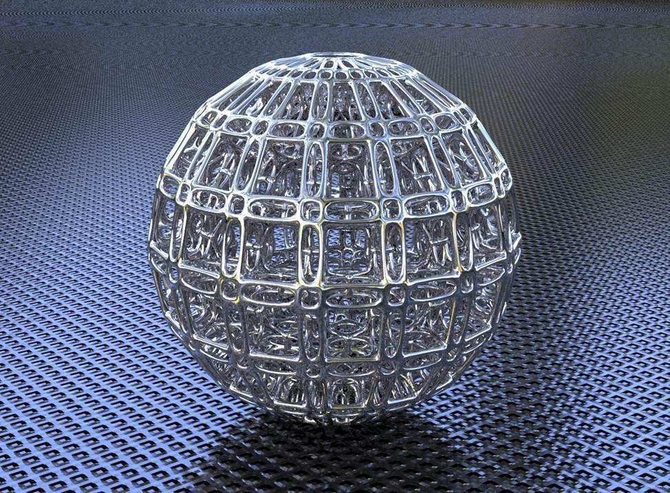 Bro Sphere Structure X5 3d Model 3d Printable Obj Stl Cgtrader Com