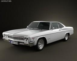 3D model Chevrolet Impala SS Sport Coupe 1966