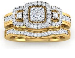 Couple Wedding Ring 3D printable model