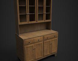 Cupboard 3D model PBR
