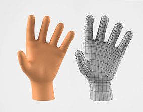 Realistic Human Hand 3D Model VR / AR ready
