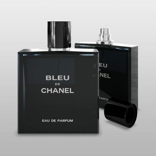 chanel bleu de chanel 3d model max obj mtl fbx mat 1