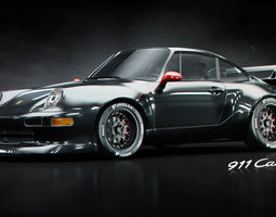 porsche 911 gt2 3d