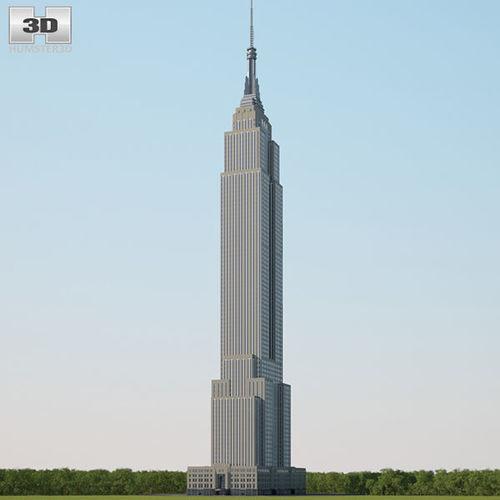 empire state building 3d model max obj mtl 3ds fbx c4d lwo lw lws 1