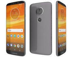 Motorola Moto E5 Flash gray 3D model