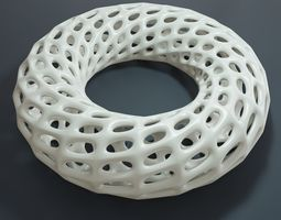 3D printable model Torus with holes