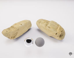 River rock 005 - Photogrammetry 3D model