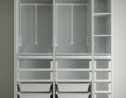Closet gabinet 3D model