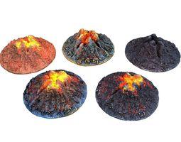 Lava Crater HD 3D model