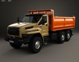 Ural Next Tipper Truck 2016 3D