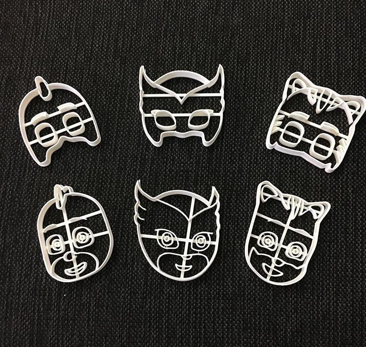 Cookie Cutter Pj Mask Six Pack