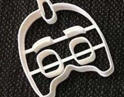 Cookie Cutter Pj Mask Green Mask 3D printable model
