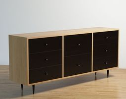 Dresser sideboard 3D Model