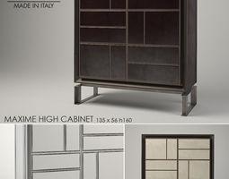 Baxter Maxime High Cabinet 3D model