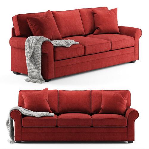 cindy crawford home bellingham cardinal sofa 3d model max obj mtl 1