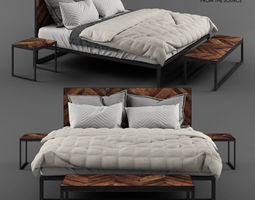3D From the Source - IKAN King bed