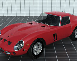 3D model LUXURY CARS COLLECTION - FERRARI 250 GTO