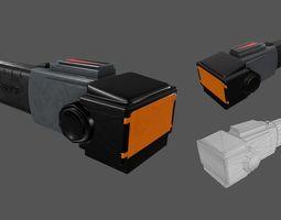 Taser 3D asset