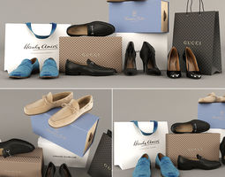 Set of Shoes 3D