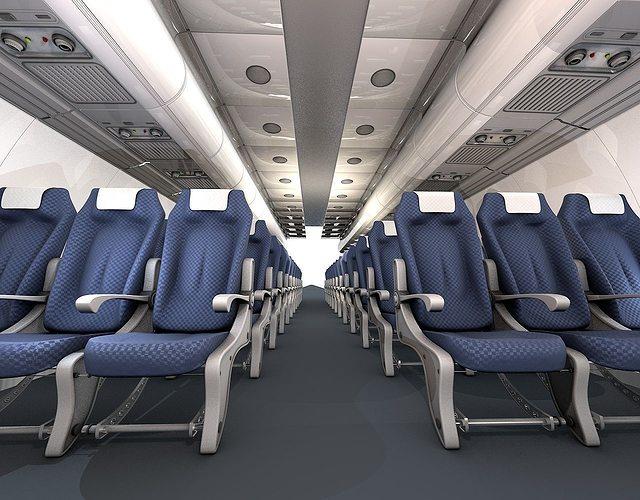 airplane-interior 3d model obj 3ds c4d mtl 1