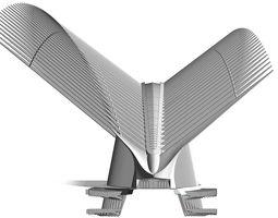 World Trade Center Transportation Hub Oculus 3D model