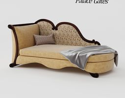 sofa palace gates aico 3D model