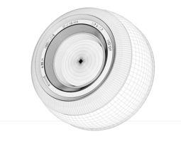 sphere-camera 3d model obj 3ds fbx c4d dxf