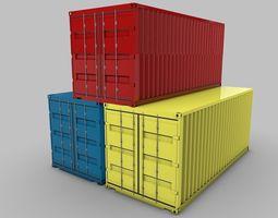 Cargo-Container 3D
