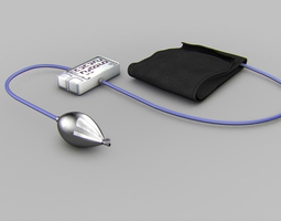 Blood-Pressure-Cuff 3D Model