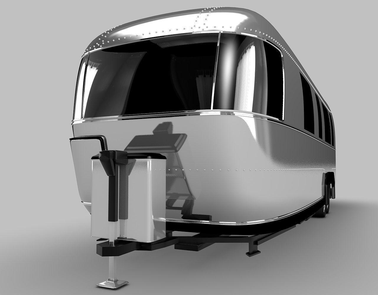Airstream-Camper | 3D model