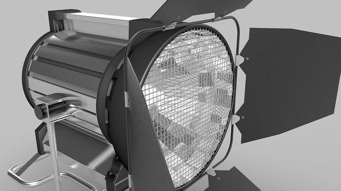 Studio-Lamp3D model