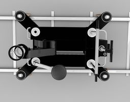 Camera-Dolly-and-Track 3D Model