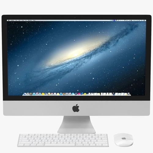 apple imac pbr 3d model max obj mtl fbx 1
