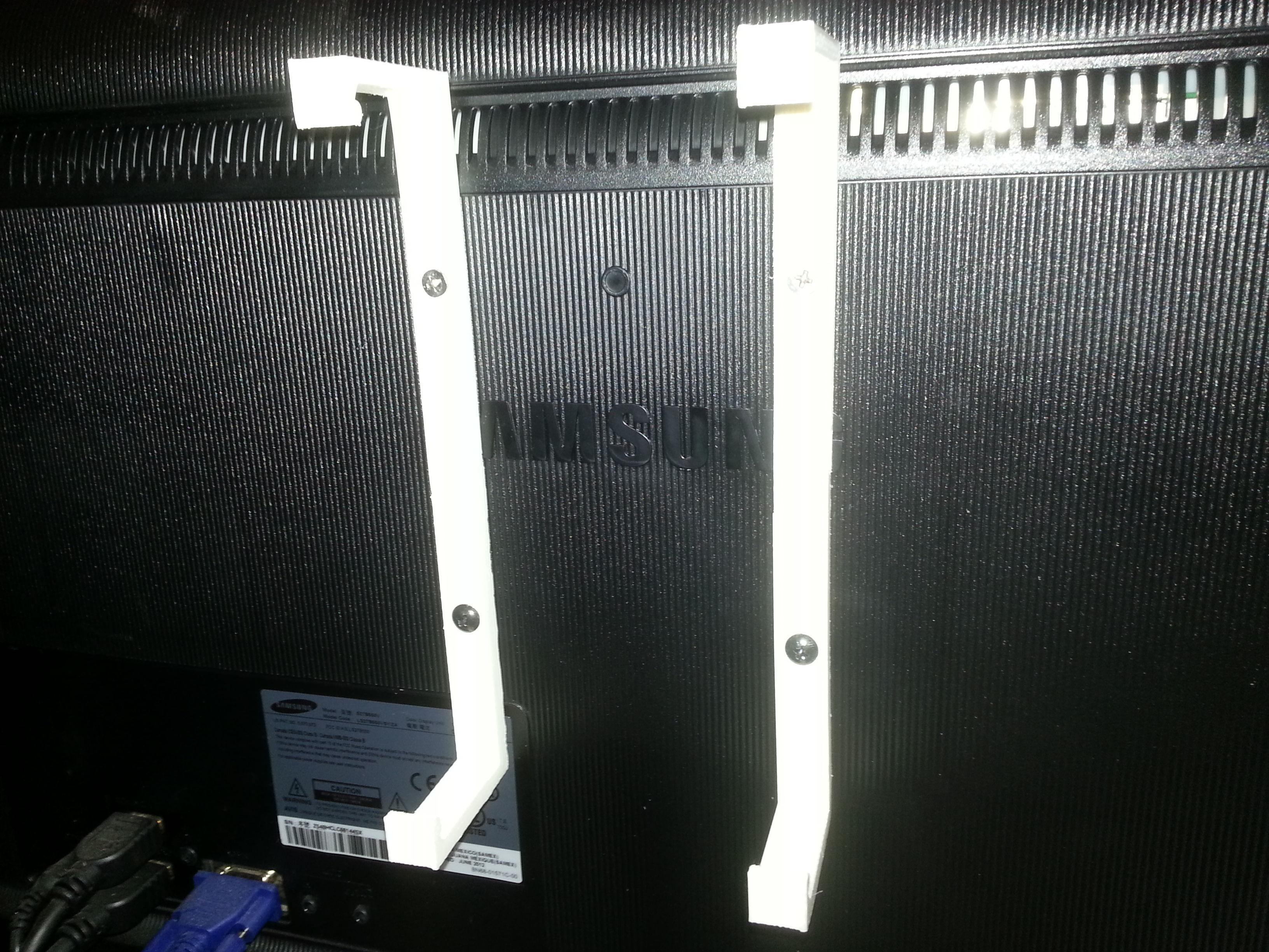 Mac Mini Monitor Bracket Free 3d Model 3d Printable Stl
