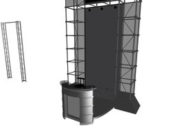 3D model Sale Points