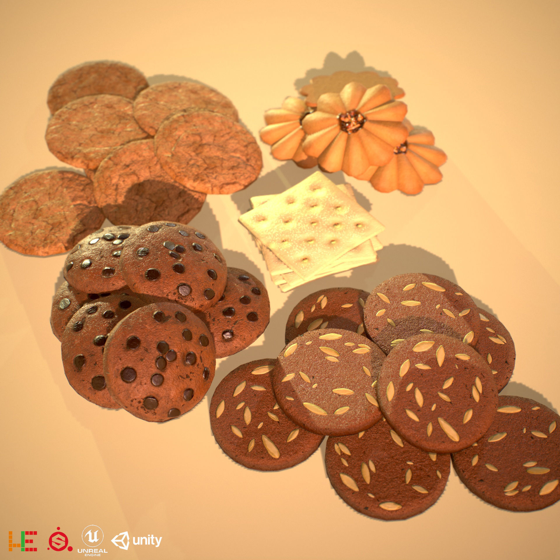 HIE Game Ready Cookie D180601