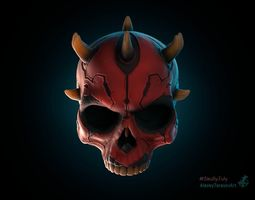 Darth Maul skull 3dprinting starwars