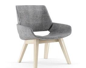 3D PROSTORIA Monk Easy Chair By Grupa