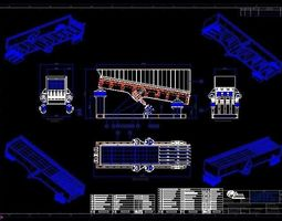 3D Vibrating Grizzly Feeder Complete Set of Drawings