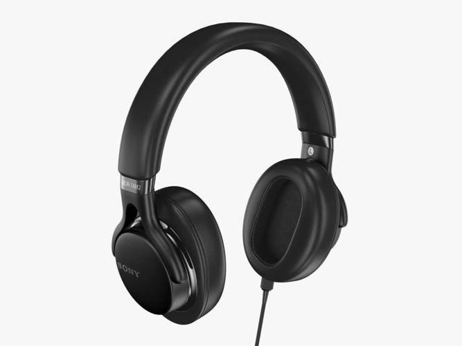sony mdr-1am2 black 3d model max obj mtl 3ds fbx c4d lwo lw lws 1