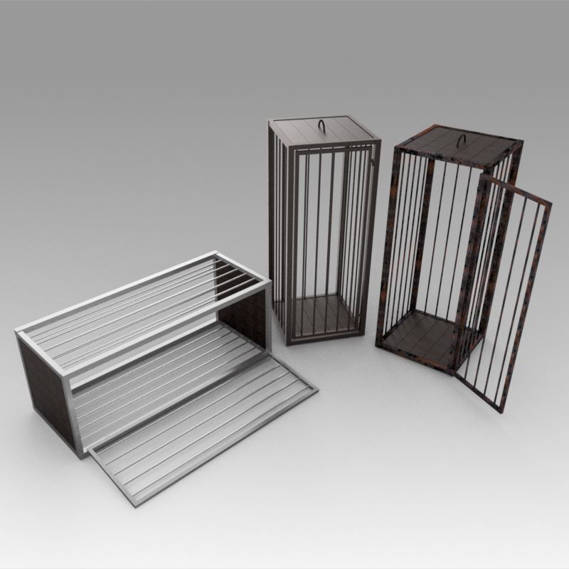 Medieval cages
