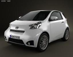 3D Scion iQ 2012