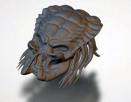 Predator Head 3D print model