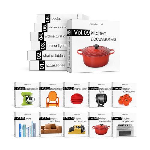modelplusmodel mega bundle vol01-vol10 3d model max obj fbx mtl pdf 1