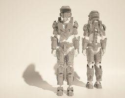 Custom Master Chief Halo4 cosplay style costume files 2
