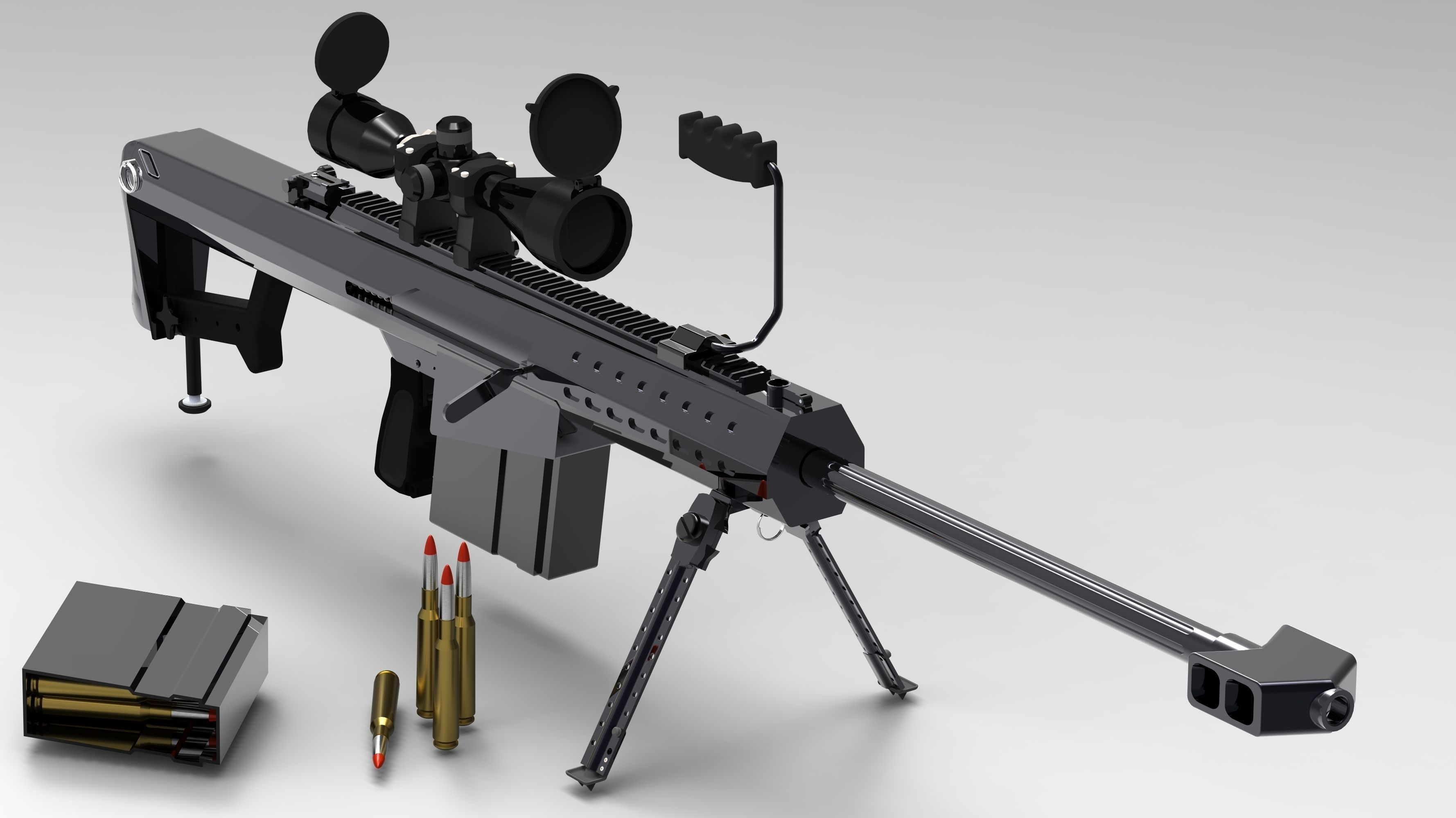 m107 sniper rifle - photo #5