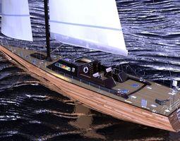 sailboat design 3d
